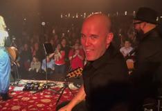 Gian Marco y el conmovedor momento de su hija Nicole en el escenario