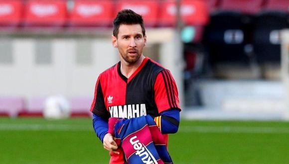 Lionel Messi pone de moda camiseta de Maradona y Newell's  hace negocio. (Foto: Reuters)