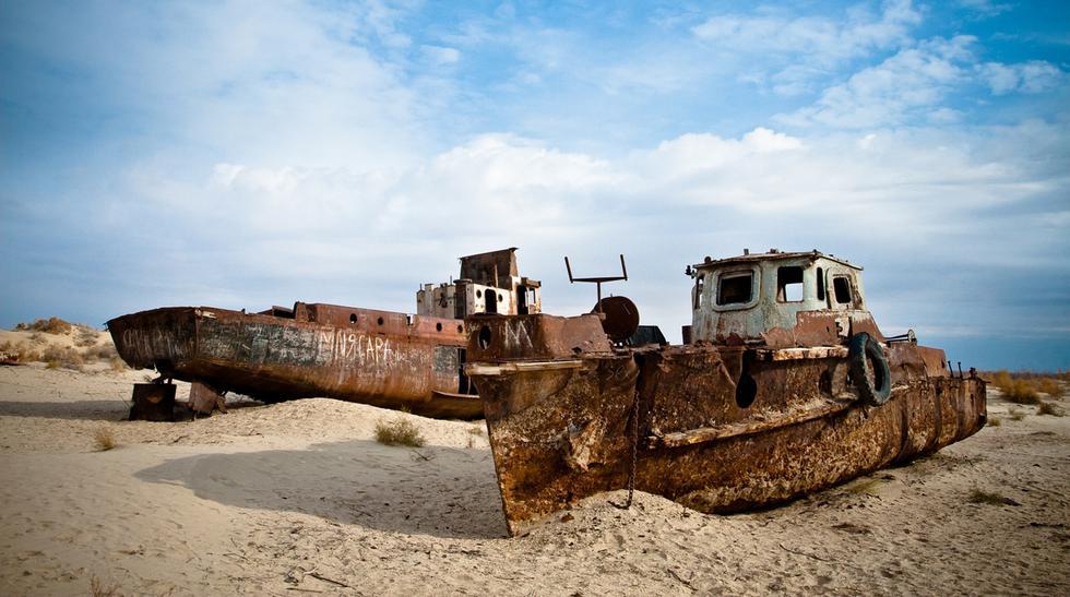 Mar de Aral, el cuarto lago más grande del mundo desaparece - 1