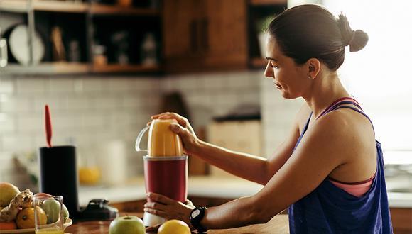 Los smoothies son la opción ideal para recuperar las energías antes o después del running.