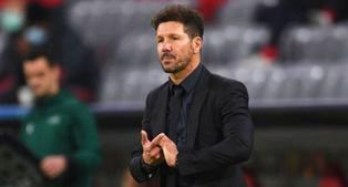 """Simeone: """"¿Lemar? Los futbolistas míos, a muerte con ellos siempre"""""""