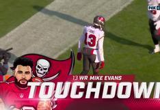 Buccaneers vs. Packers: Tom Brady y el espectacular pase para el primer touchdown del partido | VIDEO