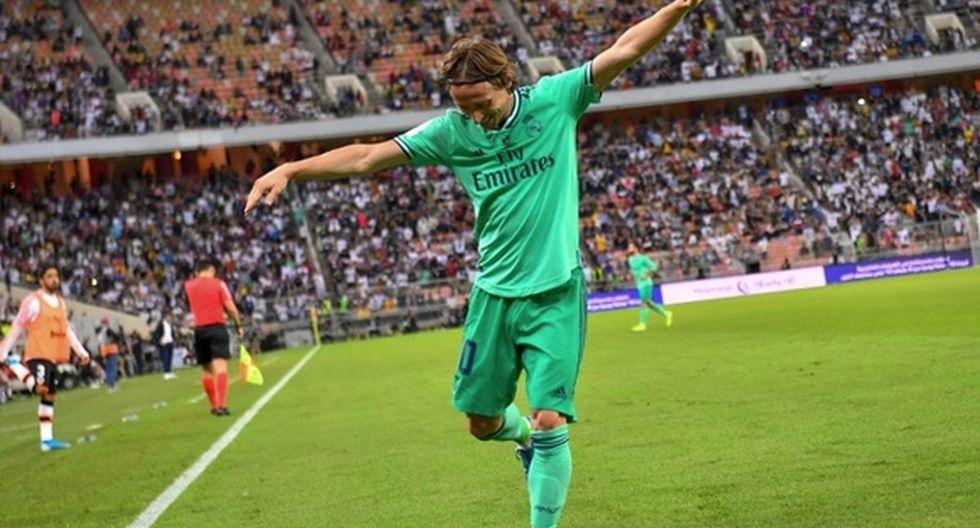 Luka Modric   Real Madrid. (Foto: Agencias)