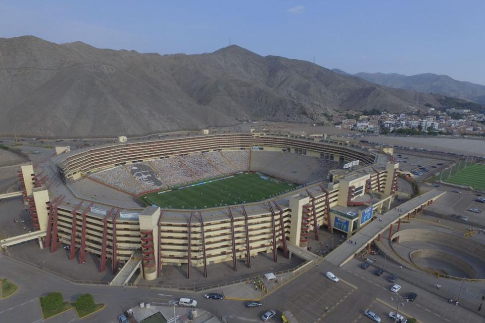 El Estadio Monumental de Ate tiene capacidad para 80 mil espectadores.
