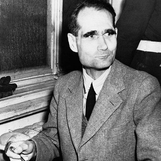 Rudolf Hess se quejaba de que lo estaban tratando de envenenar. (Getty Images).