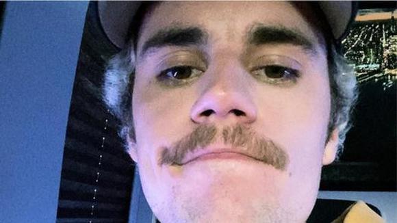 Justin Bieber took off his mustache. (Video: Official Instagram)