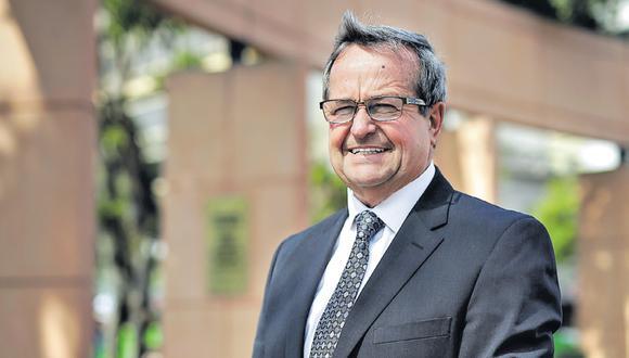 Luis Molina forma parte de Solidaridad Nacional desde el 2006, pero promete independencia del partido. (Foto: Anthony Niño de Guzmán / El Comercio)