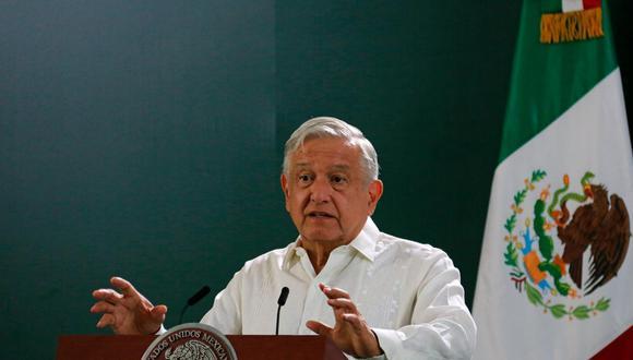 Cuestionado por la cifra de víctimas, el presidente mexicano Andrés Manuel López Obrador lamentó todos los fallecimientos y dijo que se lucha para que esto no no suceda. (Foto: Manuel López / EFE)