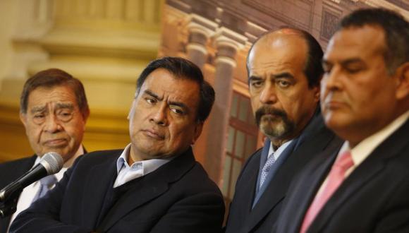 Javier Velásquez Quesquén propuso a Wilber Medina, quien ejerció la defensa legal de Alan García como magistrado del TC (Foto: GEC)