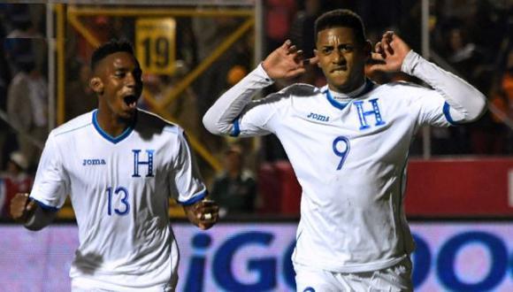 Honduras venció 1-0 a Panamá en Tegucigalpa con gol de Lozano por amistoso FIFA   VIDEO. (Foto: AFP)