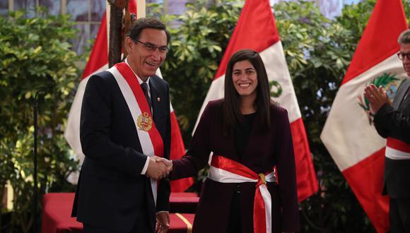María Antonieta Alva es economista de la Universidad del Pacífico y cuenta con una maestría en Harvard. (Prensa PCM)