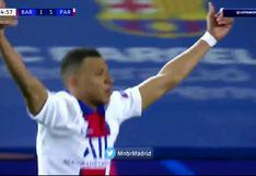 Barcelona vs. PSG: Kylian Mbappé anota un 'hat trick' para el 4-1 de los parisino   VIDEO
