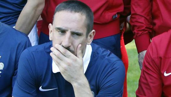 Presidente de fútbol francés confía en que Ribéry medite retiro