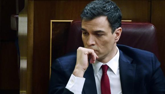 España: Congreso rechaza a Pedro Sánchez como jefe de Gobierno