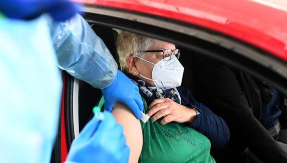 Coronavirus: Alemania vacuna a más de un millón de personas contra el COVID-19 en un día- (Foto: Ina FASSBENDER / AFP).