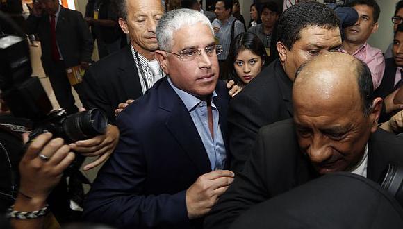 El Poder Judicial condenó a Óscar López Meneses y al exdirector de la Policía Raúl Salazar a 4 años de prisión suspendida por el delito de peculado por el resguardo irregular   Foto: Archivo El Comercio / Rolly Reyna