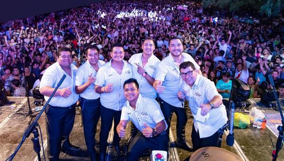 A pesar de la controversia, la agrupación Armonía 10, a través de su página de Facebook, venía anunciando el concierto en el club Remanso (Fotos: Facebook / Armonía 10).