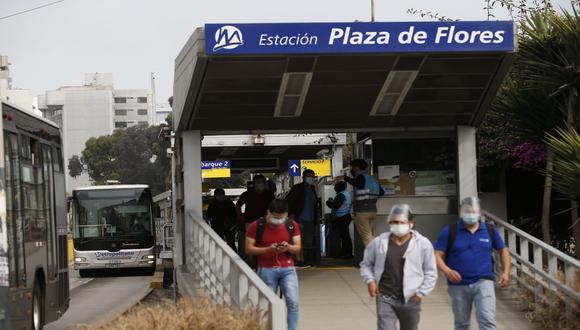 Se normalizó el servicio de buses en todas sus rutas. (Foto: Lino Chipana / @photo.gec)