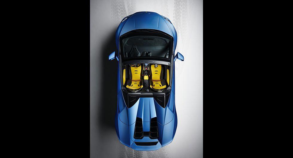 El nuevo Lamborghini Huracan EVO Spyder RWD cuenta con una aceleración de 0 a 100 km/h en 3.6 segundos y velocidad máxima de 324 km/h. (Fotos: Lamborghini).