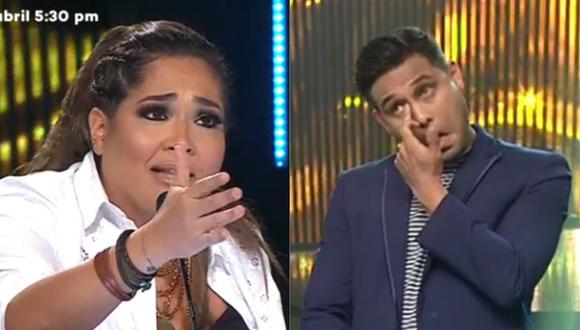 """Miembros del jurado criticaron el desempeño de Jonathan Rojas en el programa """"Yo Soy"""". (Foto: Captura Latina)"""
