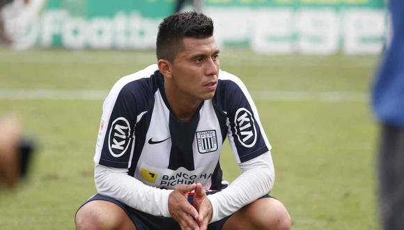 Rinaldo Cruzado no seguirá en Alianza Lima. (Foto: GEC)