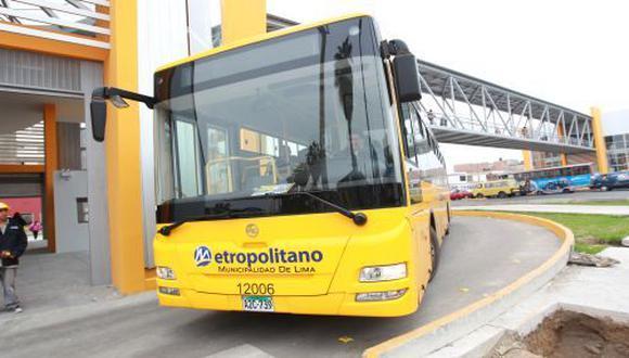 Las unidades de las 21 rutas alimentadoras del Metropolitano no circularon. (Foto: Archivo El Comercio)