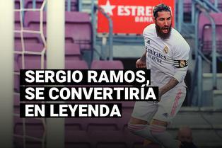 Sergio Ramos pelea por meterse en el Balón de Oro Dream Team