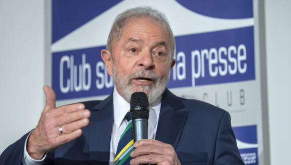 """""""En 144 días, el coronavirus se llevó temprano a 100.000 padres, madres, hijos, hermanos, abuelos"""", dijo el expresidente de brasileño Lula da Silva. (Foto: EFE/EPA/MARTIAL TREZZINI/Archivo)."""