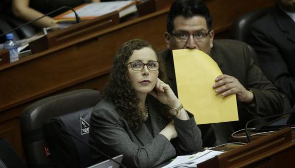 Rosa Bartra (Fuerza Popular) presidió la Comisión Lava Jato. (Foto: Anthony Niño de Guzmán / El Comercio)