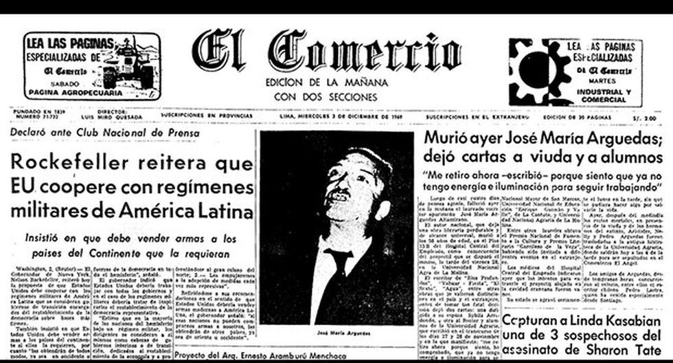 A 47 años de la muerte de José María Arguedas - 4