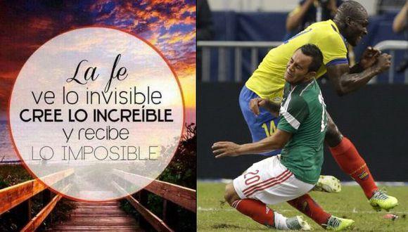Segundo Castillo y Luis Montes se desean suerte vía Twitter
