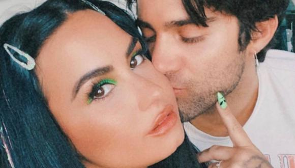 Demi Lovato compartió tiernas publicaciones junto a su pareja Max Ehrich. (Foto: Instagram)