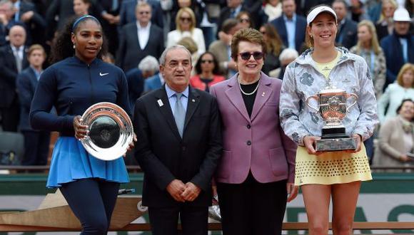 Muguruza derrotó a Serena Williams en final del Roland Garros