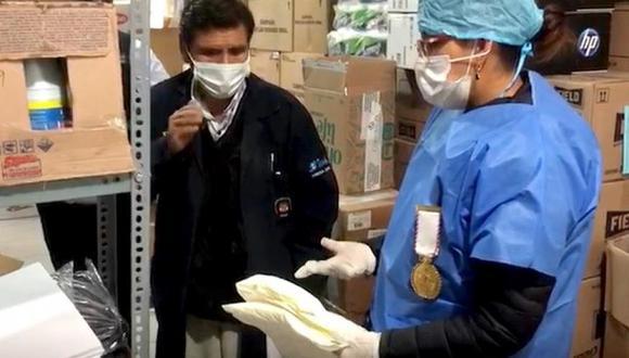 La Fiscalía de Junín dispuso la incautación de muestras de los productos para solicitar el respectivo peritaje. (Foto: Fiscalía)