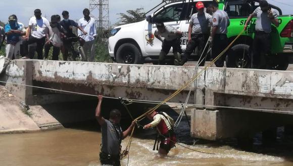 La PNP continúa con las investigaciones para determinar las causas del accidente. (Foto difusión)