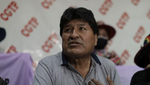 Morales ofreció la ponencia 'La juventud y la construcción del Estado Plurinacional en la Bolivia del siglo XXI'. (Foto: GEC)