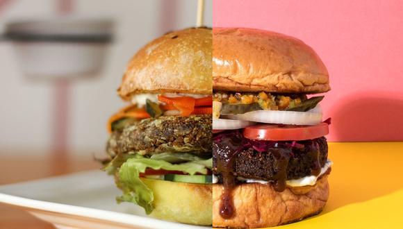 Las hamburguesas veganas son una opción saludable, rica en proteína y fibra. (Foto: The Plant Based Factory / YALA)
