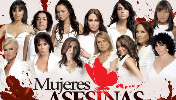 """""""Mujeres asesinas"""" tuvo tres temporadas de 40 episodios, que se emitieron entre junio de 2008 y diciembre de 2010 enLas Estrellas. Ahora está lista para estrenar nuevos capítulos (Foto: Televisa)"""