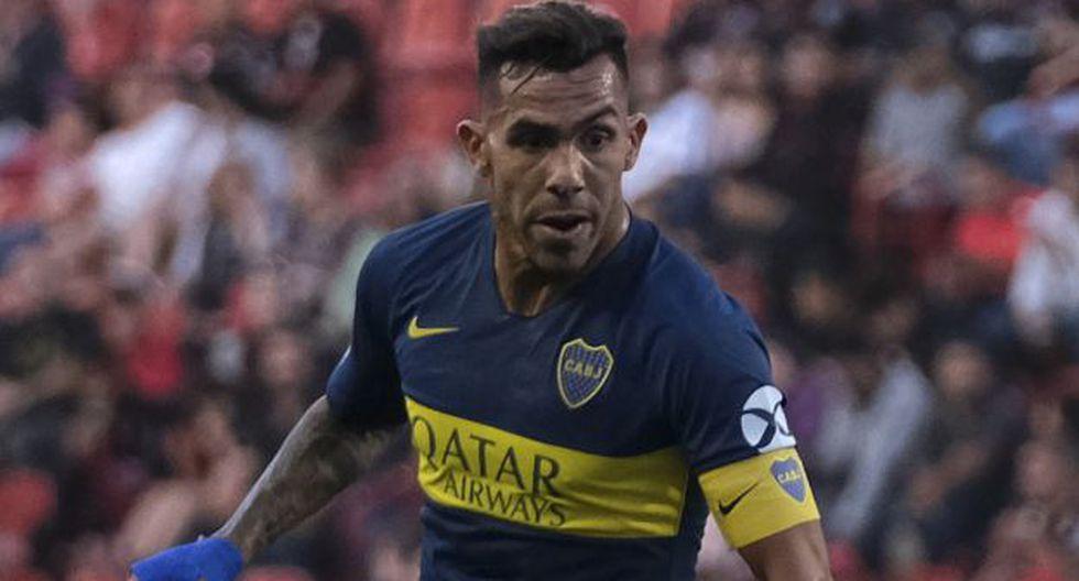Carlos Tevez es jugador de Boca Juniors desde enero del 2018. (Foto: AFP)