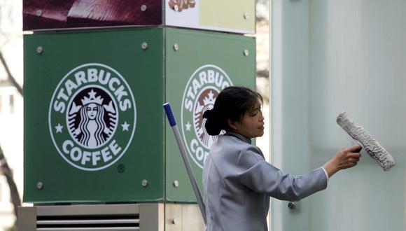 Starbucks venderá pronto en China pedidos de café realizados por Internet. (Foto: AP)