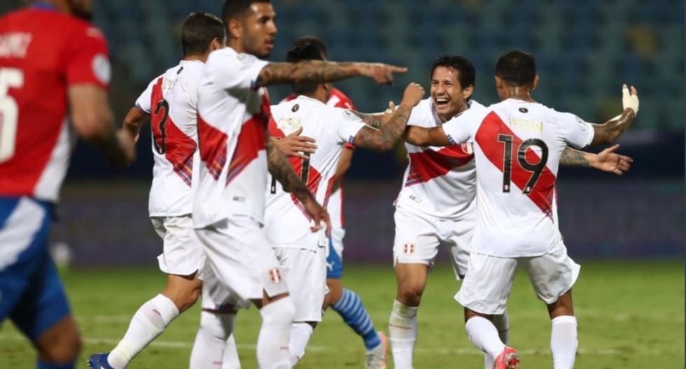 Gianluca Lapadula lleva dos goles y dos asistencias con la camiseta de la selección peruana. (Foto: FPF)