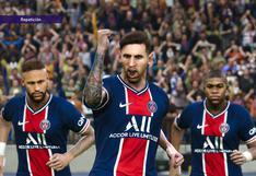 Con Messi: simulamos en PES 2021 la nueva línea de ataque del PSG