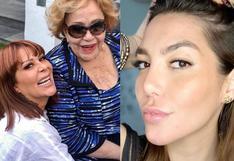 Alejandra Guzmán: el día que Silvia Pinal descartó mediar en una reconciliación entre su hija y Frida Sofía