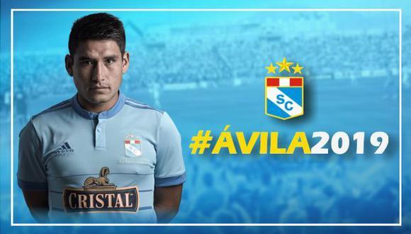 El goleador del Tornero Apertura, Irven Ávila, extendió su vínculo con Sporting Cristal hasta finales de la temporada 2019. Marcó 14 goles en la primera parte del año. Foto: Sporting Cristal