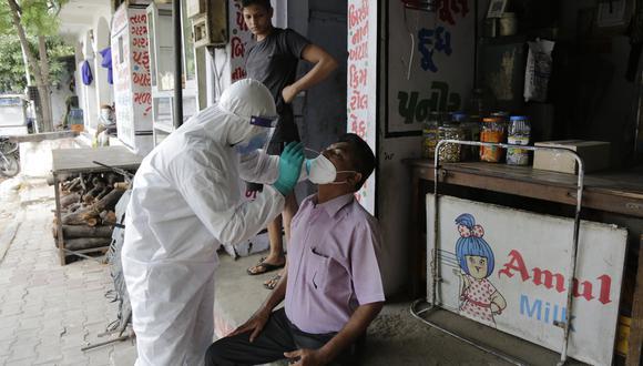 Coronavirus en India   Últimas noticias   Último minuto: reporte de infectados y muertos hoy, martes 8 de setiembre del 2020   Covid-19   (Foto: AP).