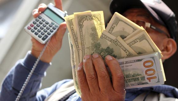 Al cierre de las operaciones, el precio del dólar se situó en S/ 3,8400 en el mercado interbancario. (Foto: GEC)