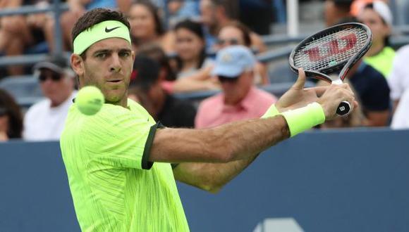 Del Potro está en octavos del US Open: venció a David Ferrer