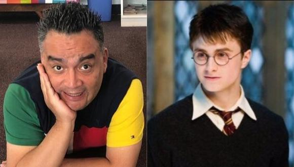 """Jorge Benavides anunció parodia inspirada en """"Harry Potter"""". (Foto: @jbjorgebenavides/Warner Bros)"""