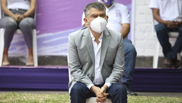 Julio Guzmán es investigado por presunto lavado de activos desde agosto de 2020. (Foto: GEC)