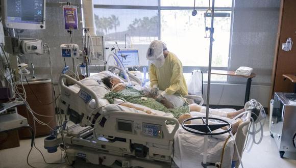 Coronavirus en Estados Unidos | Últimas noticias | Último minuto: reporte de infectados y muertos hoy, sábado 17 de abril del 2021 | Covid-19. (Foto: EFE/EPA/ETIENNE LAURENT).